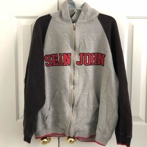 Vintage Sean Jean Zip Up Hoodie